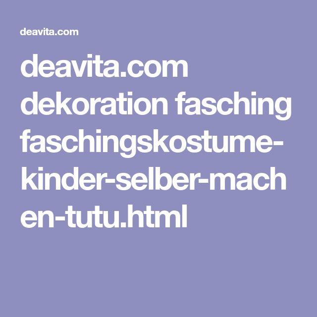deavita.com dekoration fasching faschingskostume-kinder-selber-machen-tutu.html