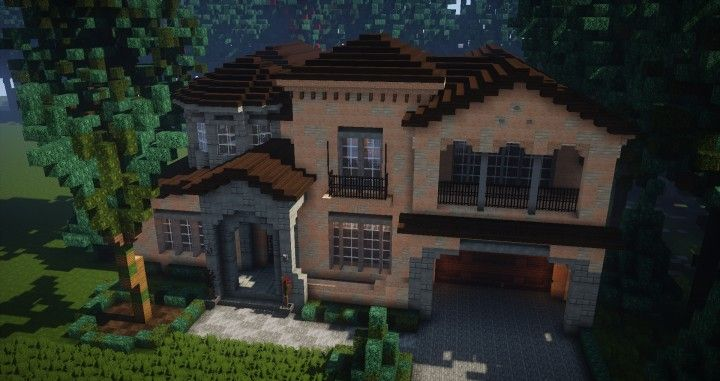 Mediterranean Style Cool Minecraft Houses Minecraft Houses