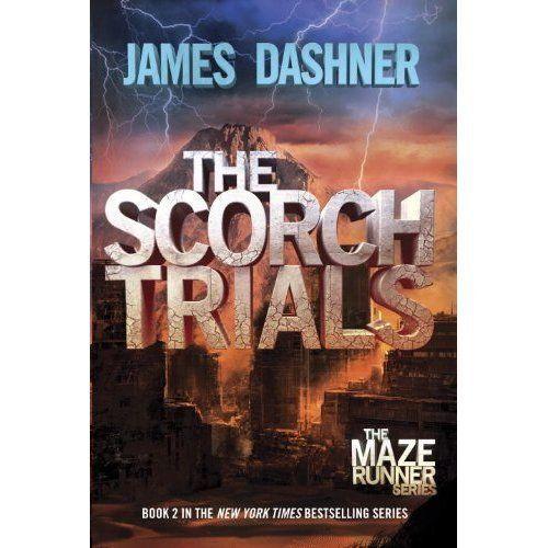 The Scorch Trials (Maze Runner, Book 2) by James Dashner, Paperback 2011, New