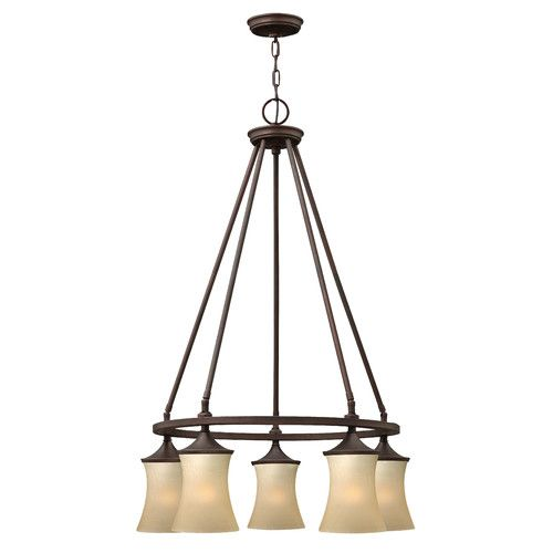 Thistledown 5-Light Shaded Chandelier #birchlane