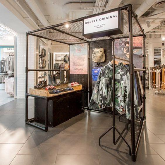 Stand con una nueva experiencia de compra para el sector retail
