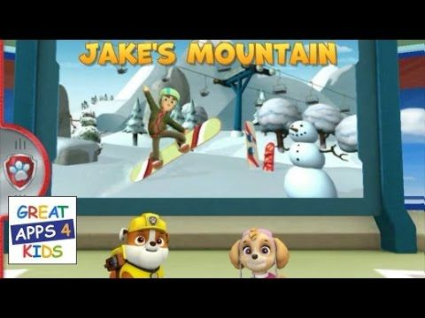 Paw Patrol Rescue Run - Jake's Mountain | HD Gameplay (Complete All Badg...