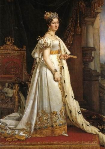 Therese of Saxe-Hildburghausen, Queen of Bavaria, by Joseph Stieler
