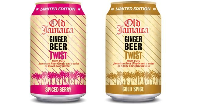 Cott Beverages has put a 'Winter Twist' on its Old Jamaica Ginger Beer with the introduction of two limited edition flavours: Gold Spice and Spiced Berry.  The non-alcoholic drink is now available in two new distinctive flavours, yet still incorporate the traditional Old Jamaica heritage.