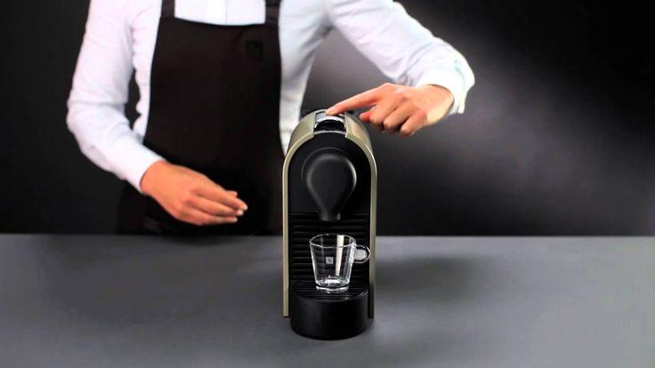 Nespresso U - Como utilizar esta máquina de café