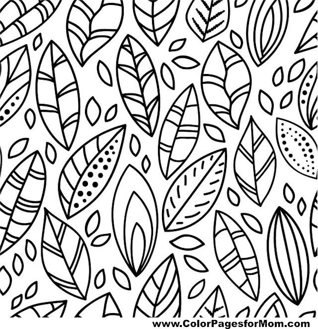 134 best Feathers Leaves Coloring Pages for Adults images on