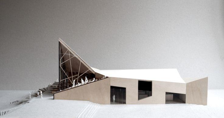 Troll Gate Restaurant By Reiulf Ramstad Arkitekter – model 01   Designalmic