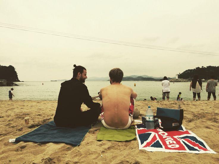 삼천포 남일대 해수욕장  Samcheonpo