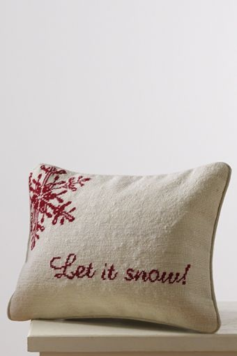 Let it snow, and soon!