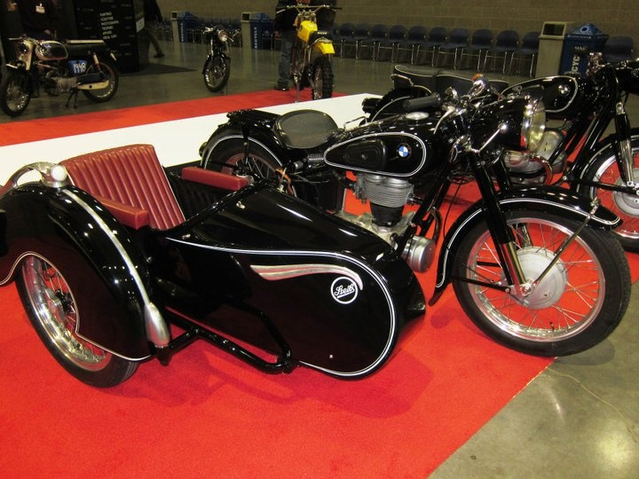 1954 bmw r25 3 with steib sidecar 250cc at the seattle. Black Bedroom Furniture Sets. Home Design Ideas