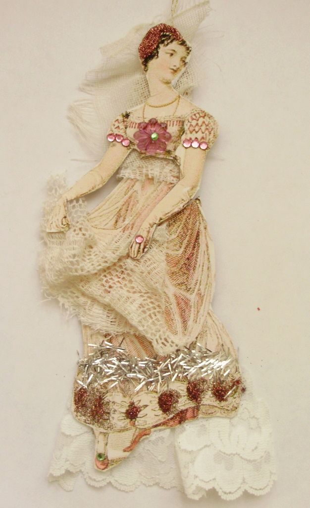 Xmas ornament doll