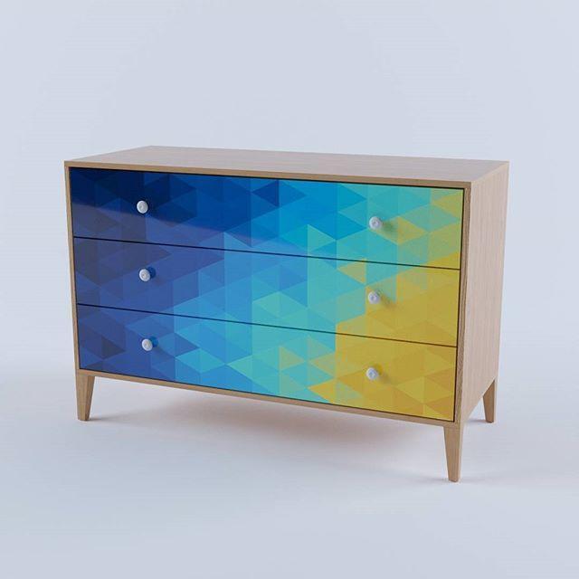 Комод из серии Geometria  #комод #комодспринтом #мебель #мебельназаказ #мебельмосква #делаеммебель #дизайнмебели #дизайнинтерьера #furnituremaker #furnituredesign #furniture #interiordesign #chestofdrawers #красиваямебель #дизайнерскаямебель #дизайнмебели