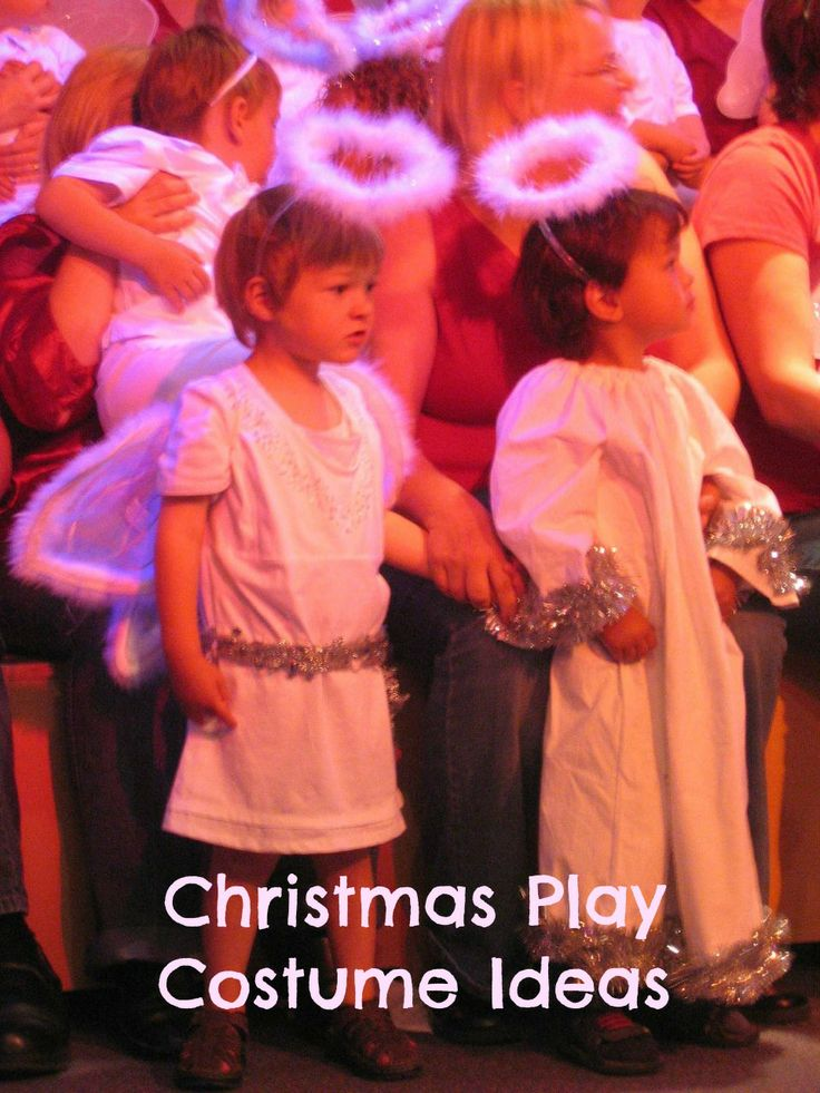 Christmas play costumes can be created by anyone, regardless of budget or skill level, with a little bit of imagination.    The most endearing aspect of any Christmas nativity play are the adorable costumes that help illustrate the story of Jesus'