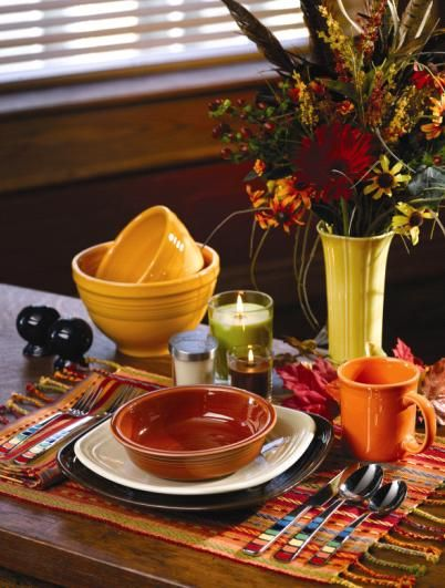 fiesta dishes - Bing Images: Fiestas Dinnerware, Fiestas Dishes Color, Fiestas Wear Kitchens, Fiestas Time, Dishes Places, Bing Images, Fiestas Obsession, Fiestas Dinnerwear, Color Coordinating