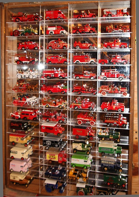 Collection of Matchbox limited edition fire engines (Fire Trucks revisited by x376, via Flickr)