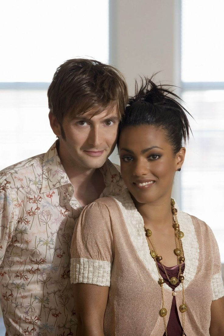 PHOTOS: David Tennant & Freema Agyeman Doctor Who Cast Announcement #ThrowbackThursday  March 27th 2014