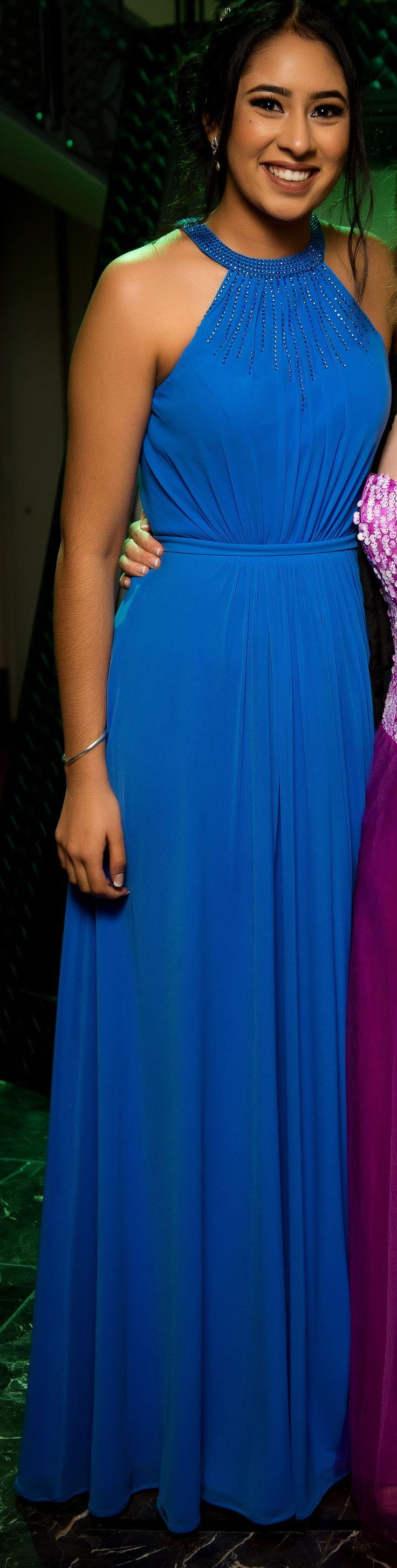 Strathallan College School Ball 2017. Love this shade of blue!