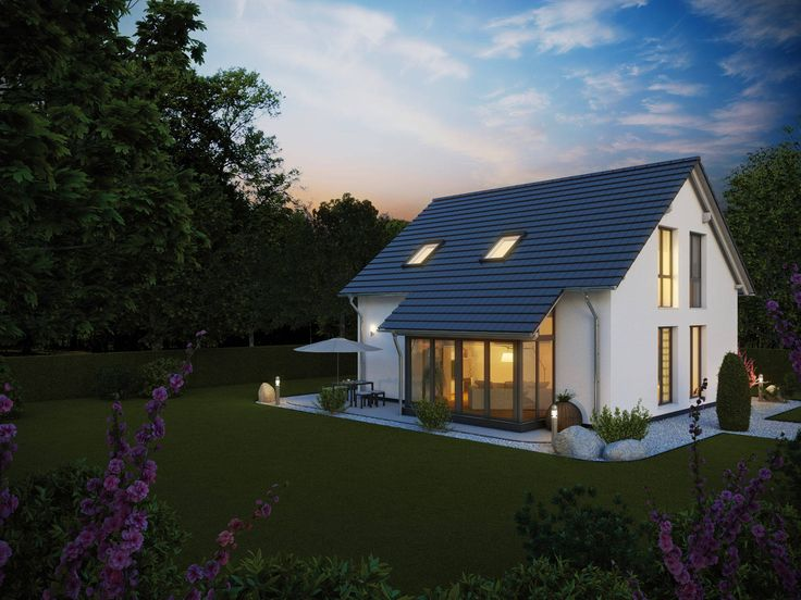 Massivhaus satteldach  28 besten Massivhaus Bilder auf Pinterest | Einfamilienhaus ...