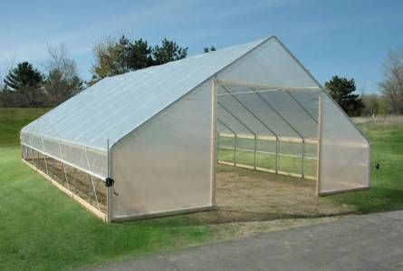 1000 images about high tunnel hoop house on pinterest for Better homes and gardens greenhouse