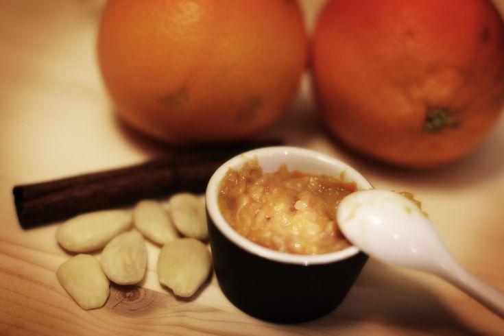 Ricetta marmellata di arance, mandorle alle cannella