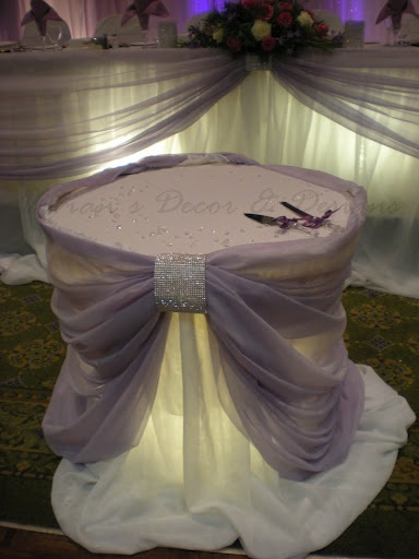 What an amazing cake table this would be! If done in the right colors, would be perfect for a Tiffany theme.