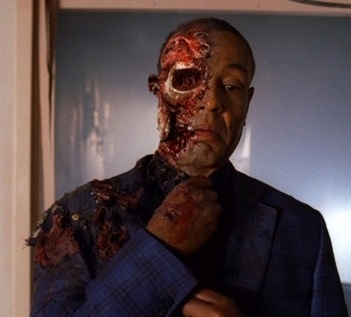Gus (breaking bad). The best bad guy ever! Giancarlo esposito! Is a brillant villain in both Revolution and was great in Breaking Bad too!