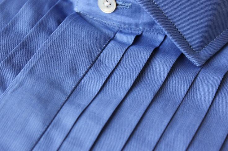 Timothy Everest - Butcher's Blue Cotton Shirt