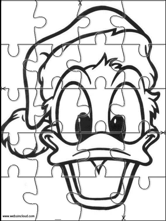 Printable jigsaw puzzles to cut out for kids Disney 116