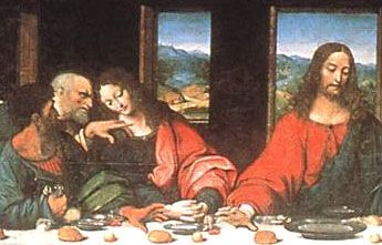 the last supper leonardo da vinci mary magdalene - Google ...