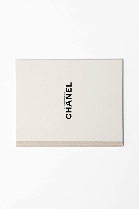 chanel branded packaging in light beige colors | typography / graphic design: Chanel |