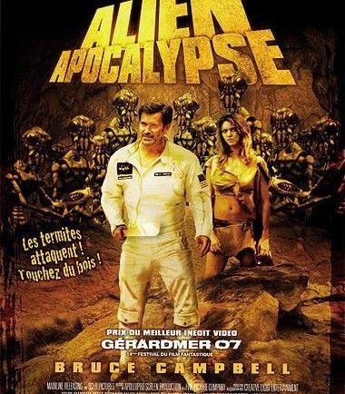 Alien Apocalypse (2005)- Une équipe d'astronautes, menée par le Docteur Ivan Hood, retourne sur Terre après un sommeil cryogénique de 40 ans dans l'espace. Ils découvrent que toute l'humanité est asservie par de monstrueux termites extraterrestres. Les nouveaux arrivants sont capturés et contraints de rejoindre un groupe d'esclaves. Le Docteur Hood tente alors de mobiliser les humains pour créer une armée et lutter contre l'envahisseur..