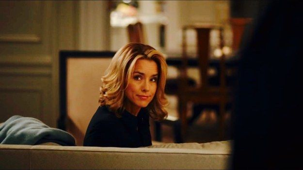 """Her hair is never out of place. 