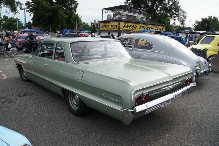 1964 - Chevrolet Biscayne - 2 - rear side