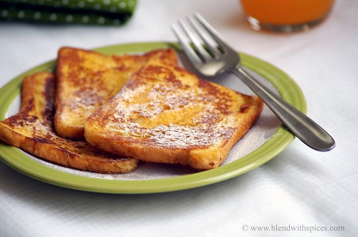 Indian Cuisine: Eggless Cinnamon French Toast Recipe | Easy Bread Recipes