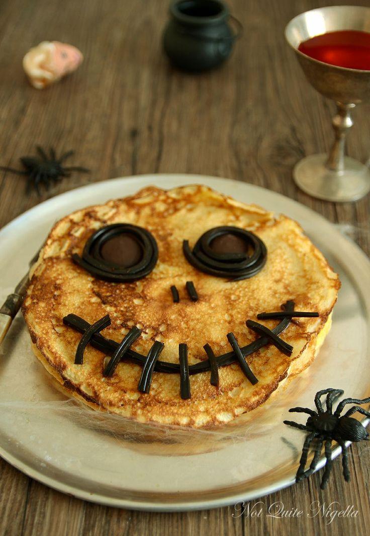 #Eierkuchen mal anders, passend zu #Halloween als süßer #snack
