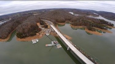 (UNION COUNTY) All lanes of the new Highway 33 bridge in Union County are open.