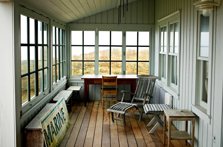 "Market Ready: Renovating an Enclosed Porch {""if the home is on the very small side...a four-season porch could be a major selling feature...}"