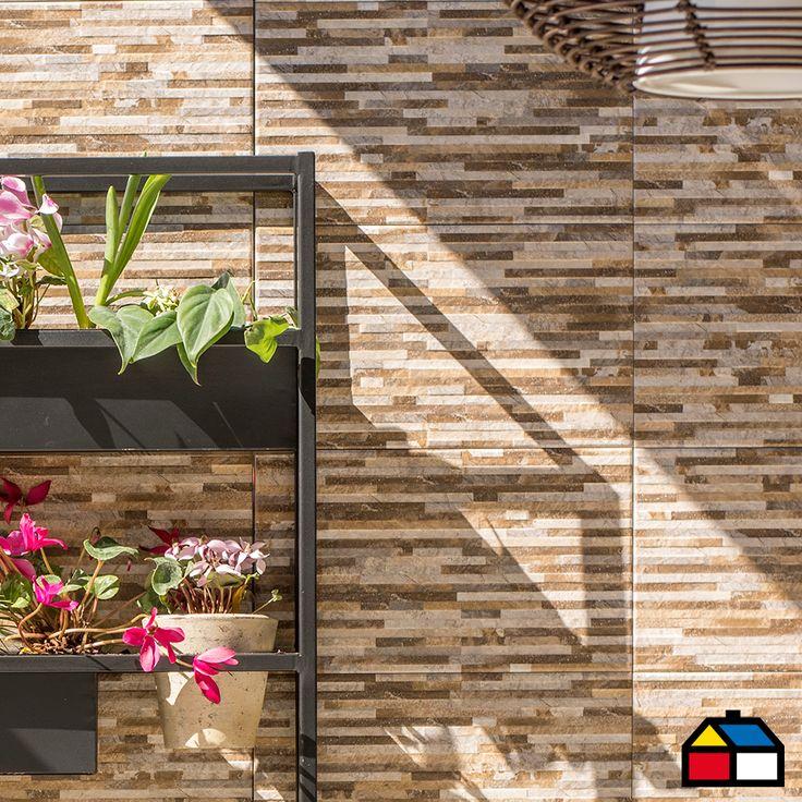#Pisos #Muro #Cerámica #Terraza #Enchape