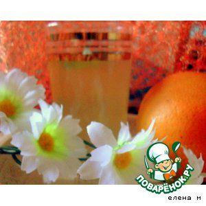 Апельсиново-мятный лимонад