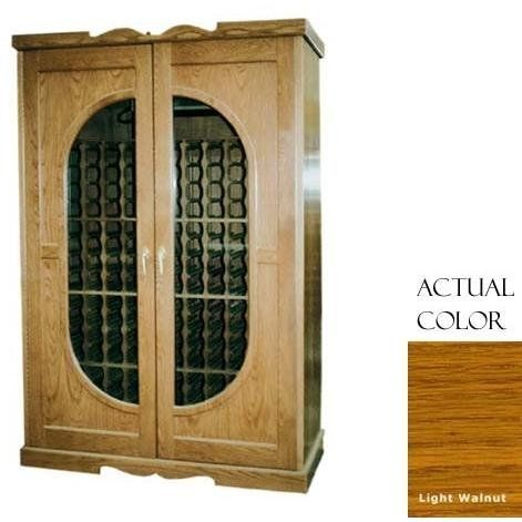 Vinotemp Vino-700monaco-ltwa 440 Bottle Monaco Series Wine Cellar With Cornice - Glass Doors / Light Walnut Cabinet by Vinotemp. $6379.00. Vinotemp VINO-700MONACO-LTWA 440 Bottle Monaco Series Wine Cellar With Cornice - Glass Doors / Light Walnut Cabinet. VINO-700MONACO-LTWA. Wine Cellars. This unique Wine Cellar from Vinotemp features two wood carved doors with glass, half-oval shaped panes. The wine mate self contained cooling system ensures proper circulation while your win...