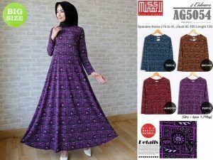supplier baju wanita: supplier baju hijab modern tangan pertama AG5054