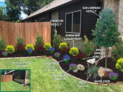 Frontyard Flowerbed Design Front Yard Garden Design Front Yard Landscaping Design Flower Bed Designs