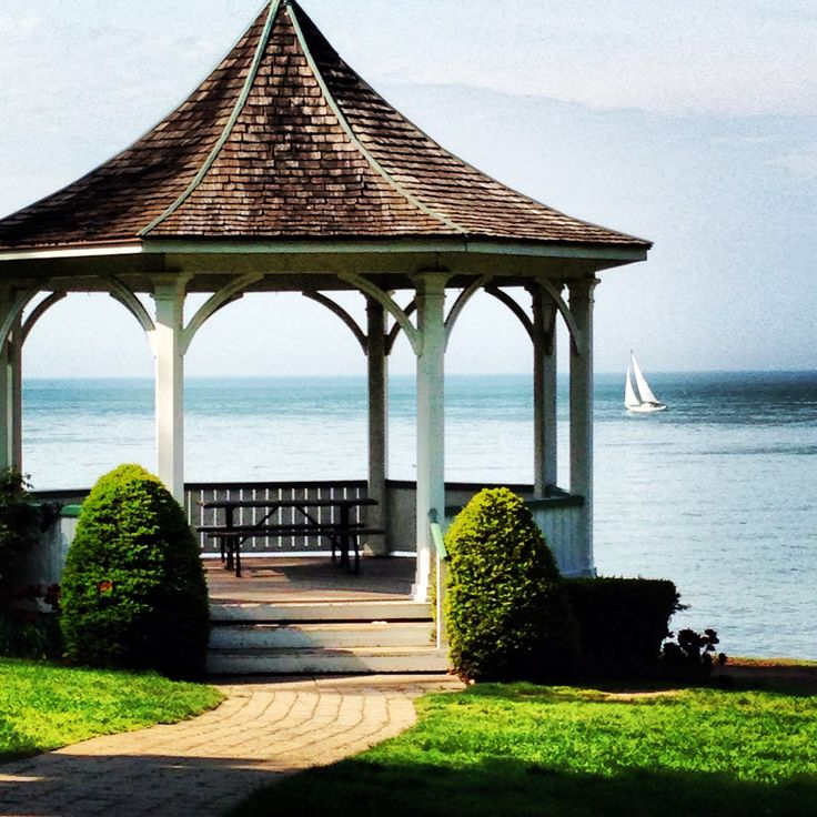 "Niagara-on-the-Lake.  This gazebo was built in the 1980's for the movie ""The Dead Zone"" starring Christopher Walken.  After filming it was donated to the town."