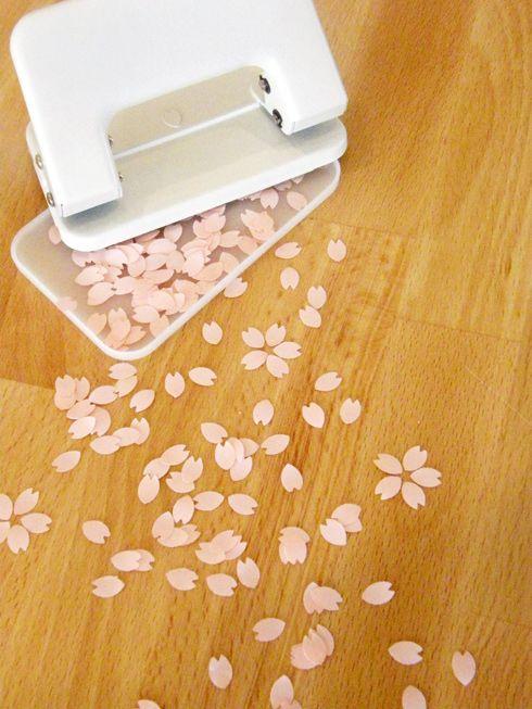 底を開ければ桜が満開。SAKURA PUNCH(サクラパンチ) - まとめのインテリア / デザイン雑貨とインテリアのまとめ。
