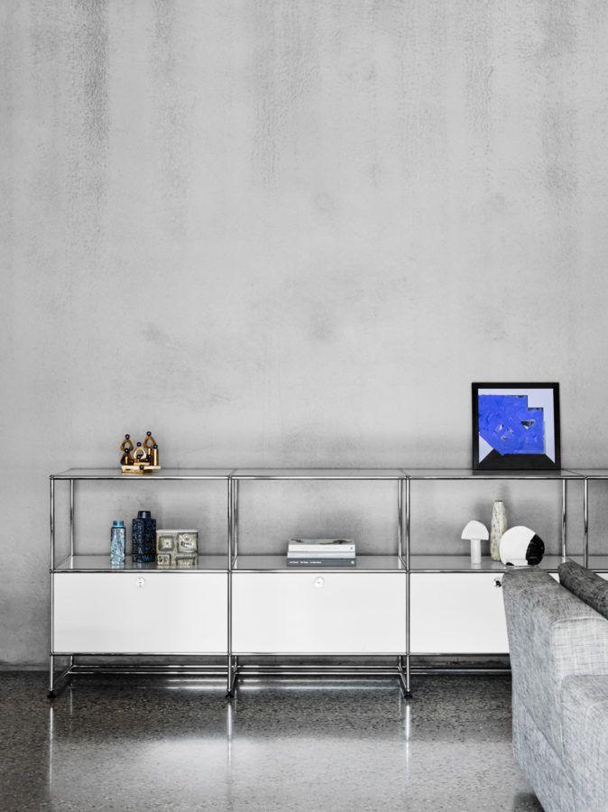 Usm Haller, Sammlung, Regal, Modulare Möbel, Moderne Möbel, Möbeldesign,  Museum Für Moderne Kunst, Moma, Das Zimmer .