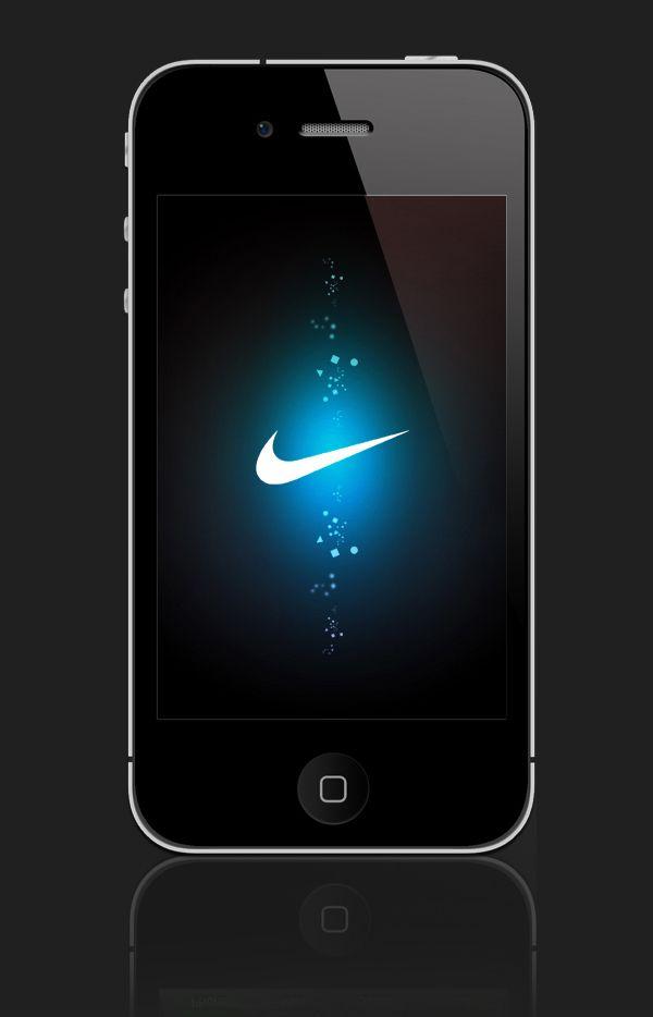 NIKE iPHONE UI
