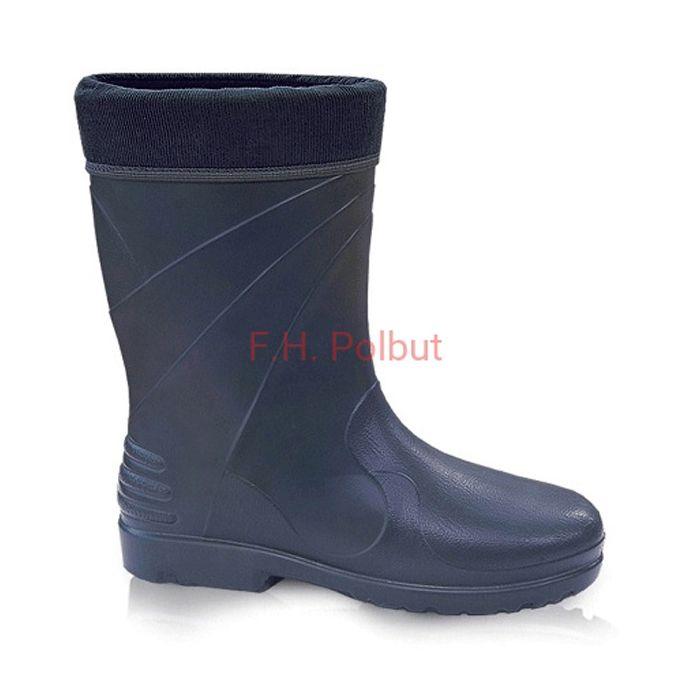 #Dark #blue #wellington #boots, made by #Demar with soft and #light #EVA material. Additionally #cotton inside for better #comfort.