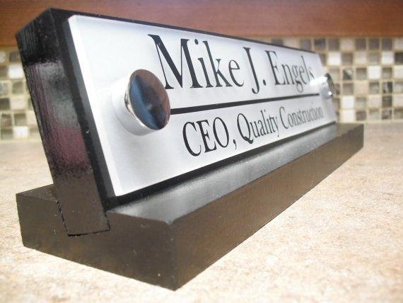 Desk Name Plate Or Graduation Desk Nameplate Gift Mothers Day Etsy Desk Name Plates Name Plate Office Desk Name Plates