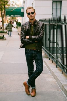 Brown Shoes With Black Jacket | Jackets Review