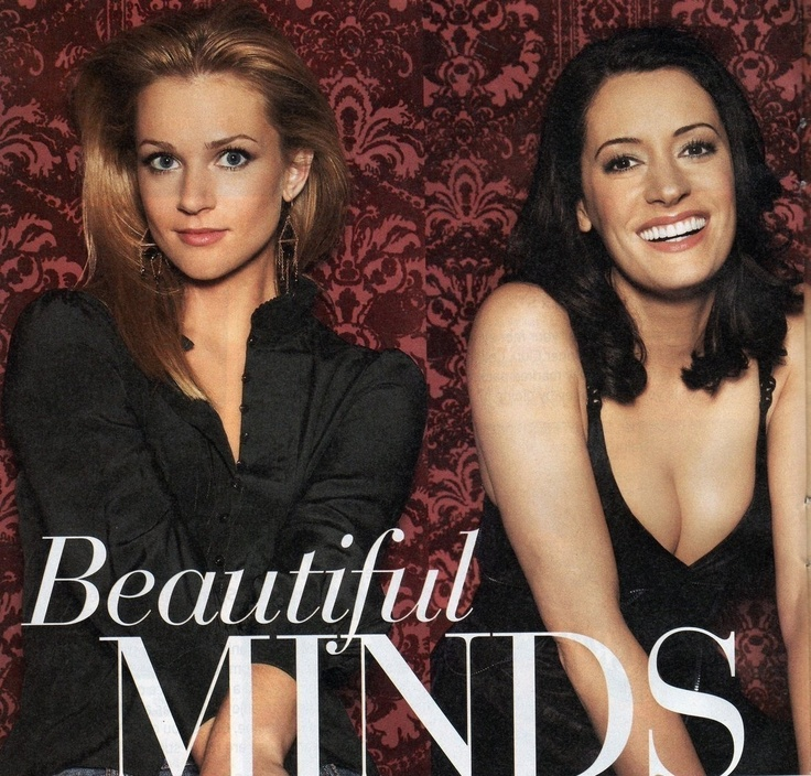 """love these ladies! their characters on Criminal Minds are so inspirational. (left: AJ Cook as Jennifer """"JJ"""" Jareau; right: Paget Brewster as Emily Prentiss.)"""